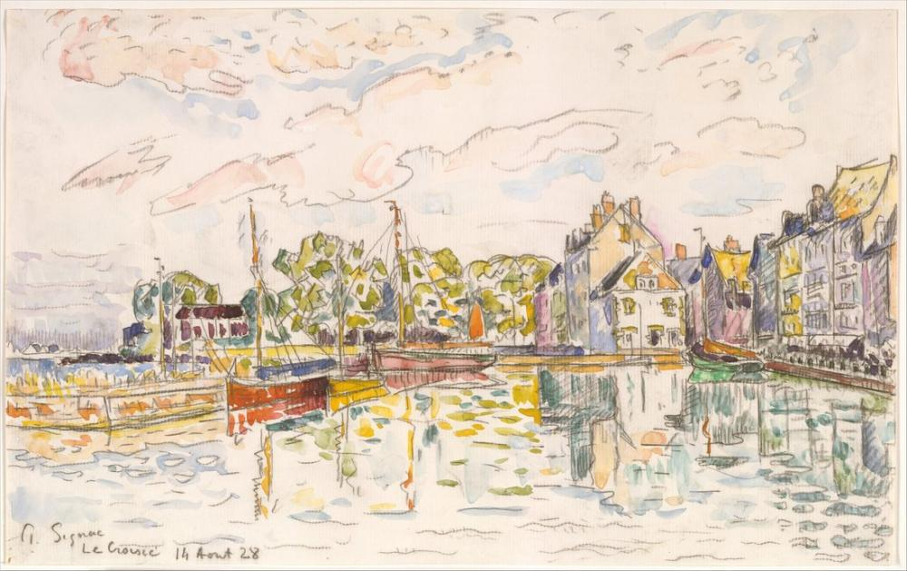 Paul Signac Le Croisic II, Kanvas Tablo, Paul Signac, kanvas tablo, canvas print sales