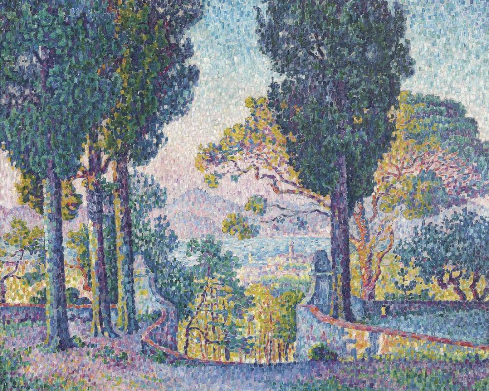 Paul Signac Sainte Anne, Kanvas Tablo, Paul Signac, kanvas tablo, canvas print sales