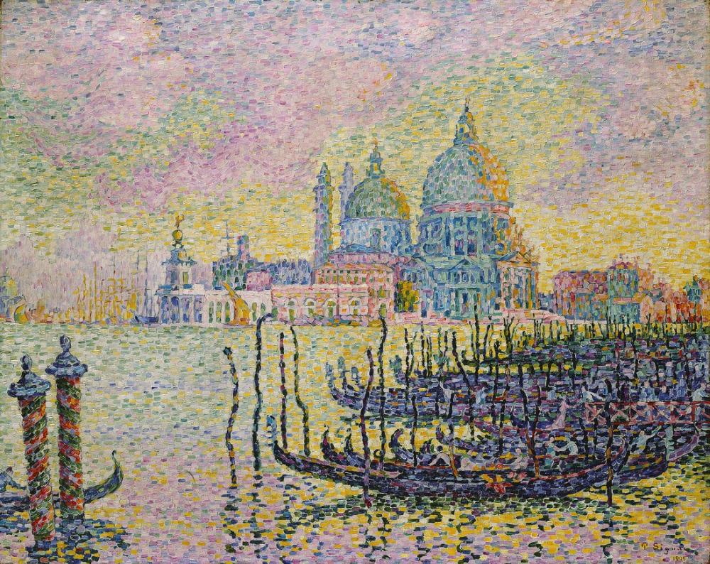 Paul Signac Büyük Kanal, Kanvas Tablo, Paul Signac, kanvas tablo, canvas print sales