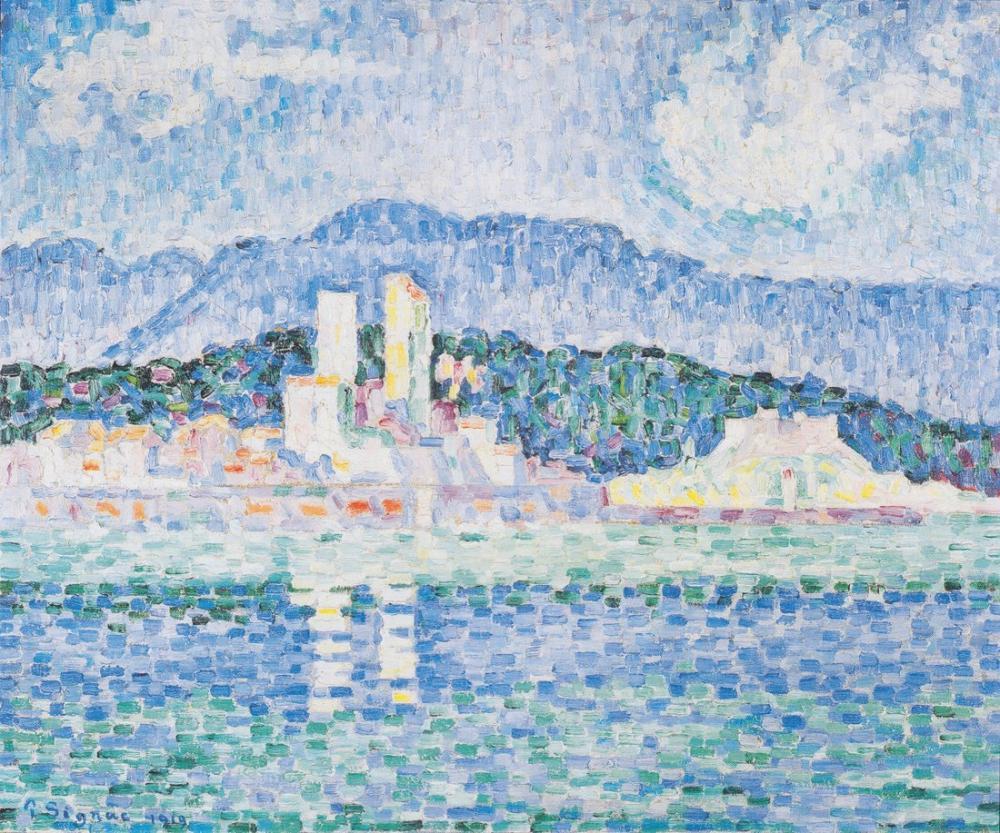 Paul Signac Antibes Fırtına, Kanvas Tablo, Paul Signac, kanvas tablo, canvas print sales