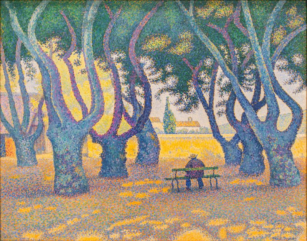 Paul Signac Place Des Lices, Kanvas Tablo, Paul Signac, kanvas tablo, canvas print sales