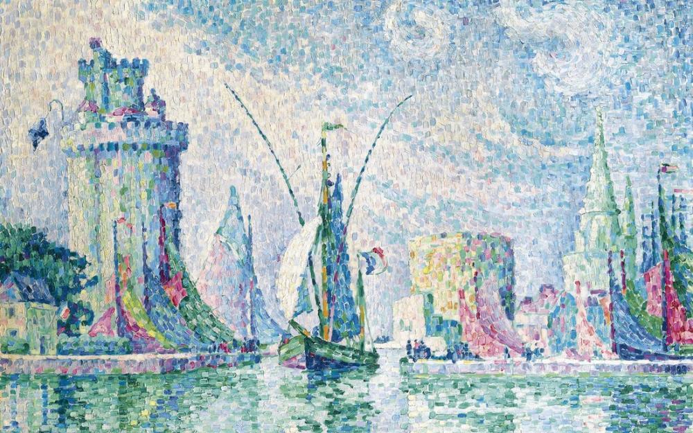 Paul Signac Yelkenli Tekne Artangle, Kanvas Tablo, Paul Signac, kanvas tablo, canvas print sales