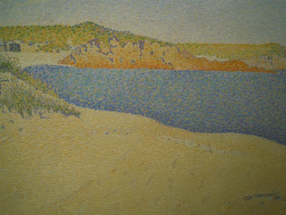 Paul Signac Sahil Saint Briac, Kanvas Tablo, Paul Signac, kanvas tablo, canvas print sales