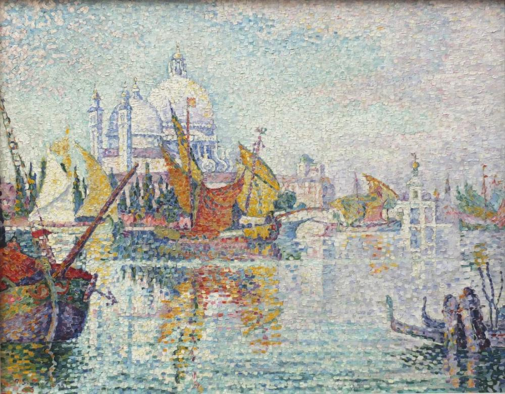 Paul Signac Mouillage De La Giudecca, Canvas, Paul Signac, ps77