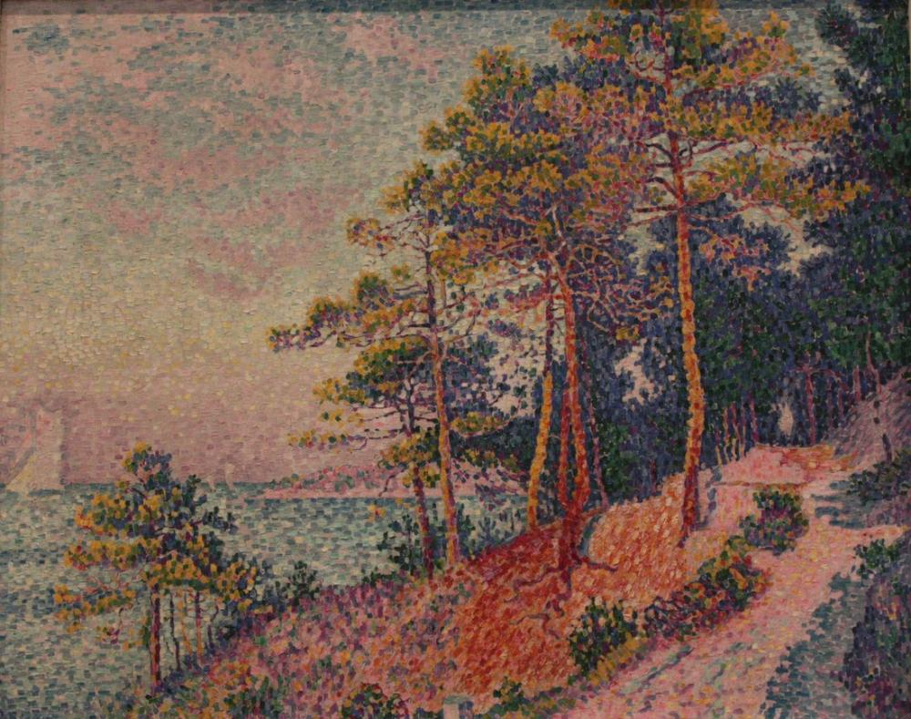 Paul Signac Gümrük İz, Kanvas Tablo, Paul Signac, ps95