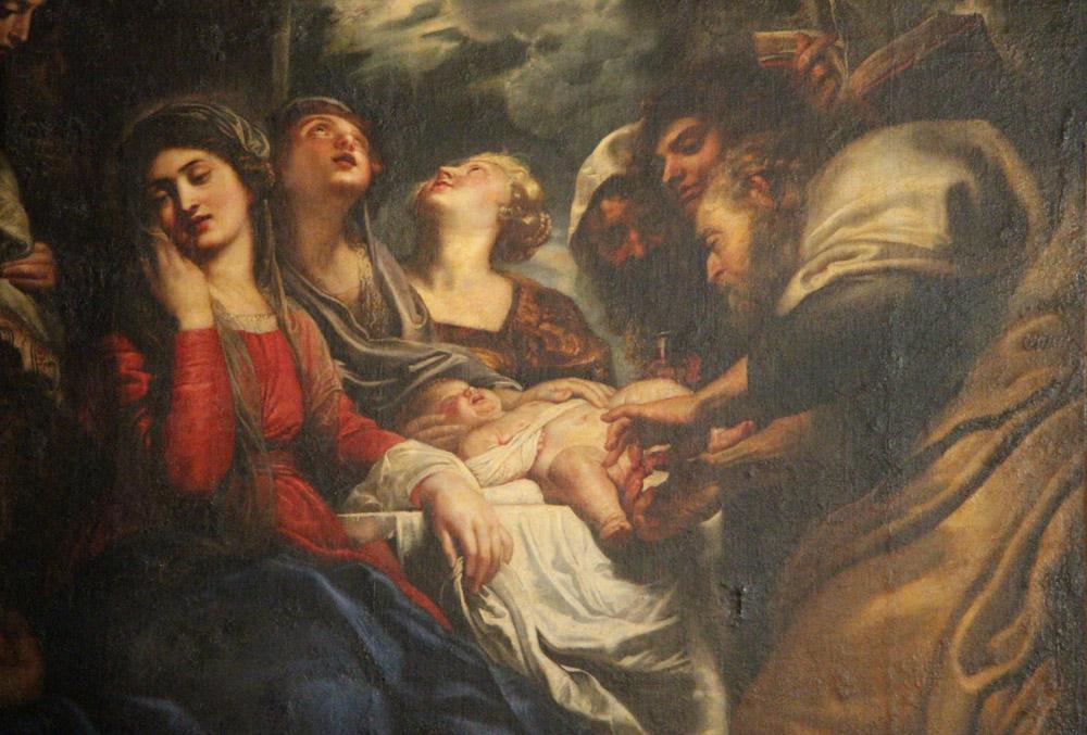Peter Paul Rubens circoncisione di gesù per niccolò pallavicino, Canvas, Peter Paul Rubens, kanvas tablo, canvas print sales