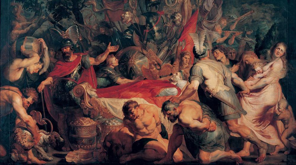 Peter Paul Rubens The Obsequies of Decius Mus, Canvas, Peter Paul Rubens