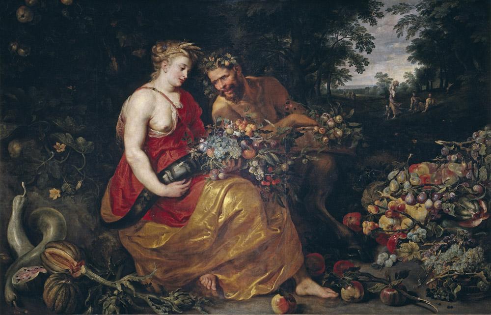 Peter Paul Rubens Ceres and Pan, Canvas, Peter Paul Rubens, kanvas tablo, canvas print sales