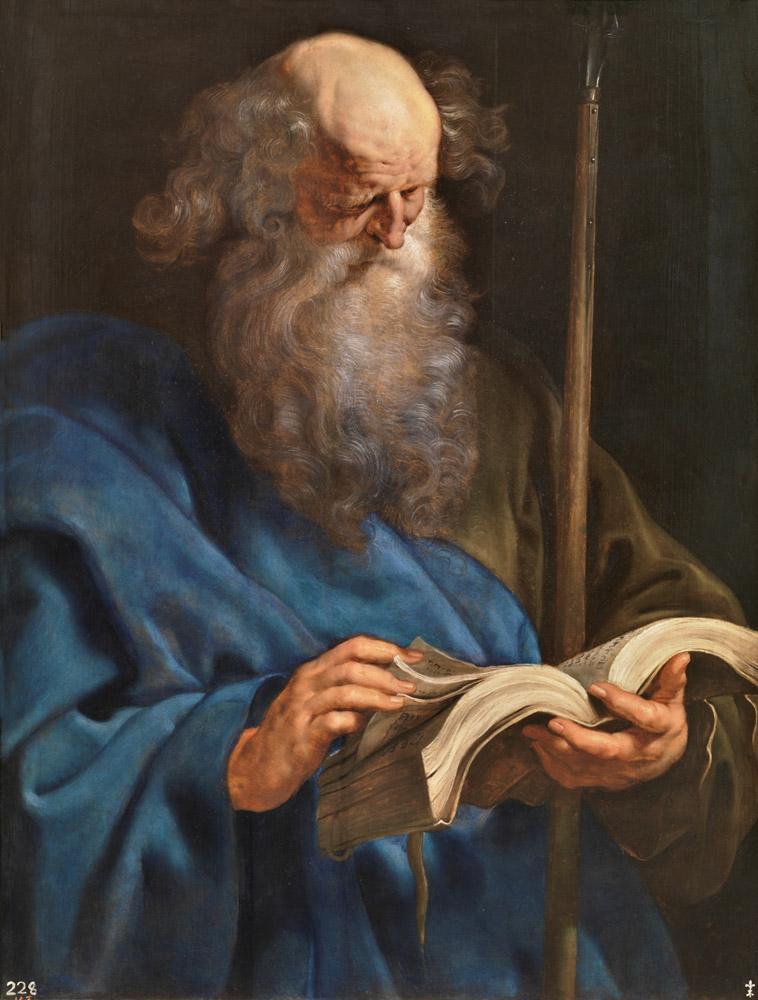 Peter Paul Rubens Apostel Thomas, Canvas, Peter Paul Rubens, kanvas tablo, canvas print sales