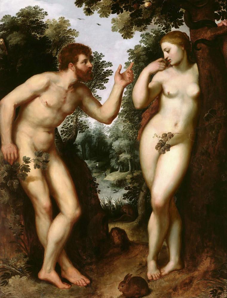 Peter Paul Rubens Adam and Eve, Canvas, Peter Paul Rubens, kanvas tablo, canvas print sales