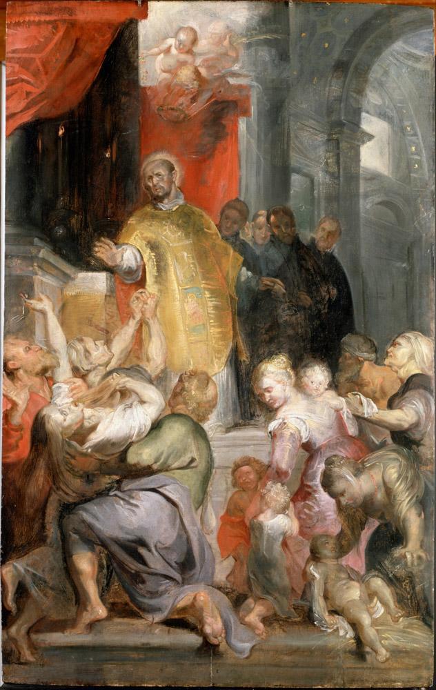 Rubens The Miracles of Saint Ignatius of Loyola, Canvas, Peter Paul Rubens, kanvas tablo, canvas print sales
