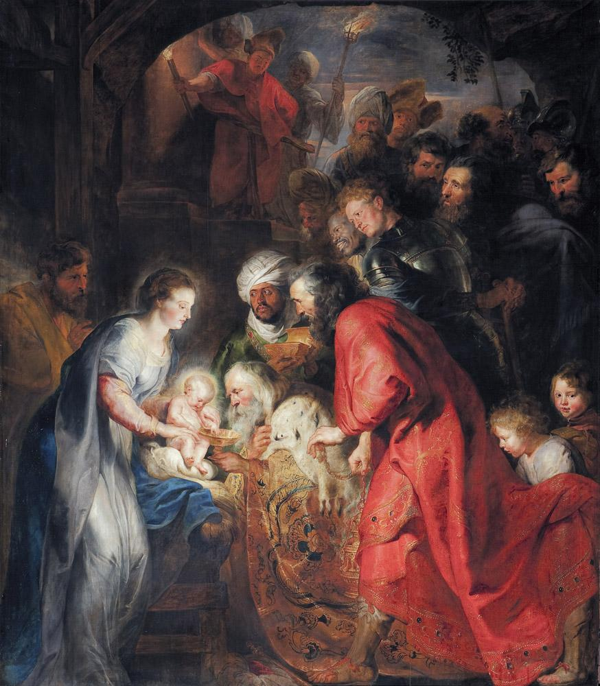 Peter Paul Rubens The Adoration of the Wise Men, Canvas, Peter Paul Rubens, kanvas tablo, canvas print sales