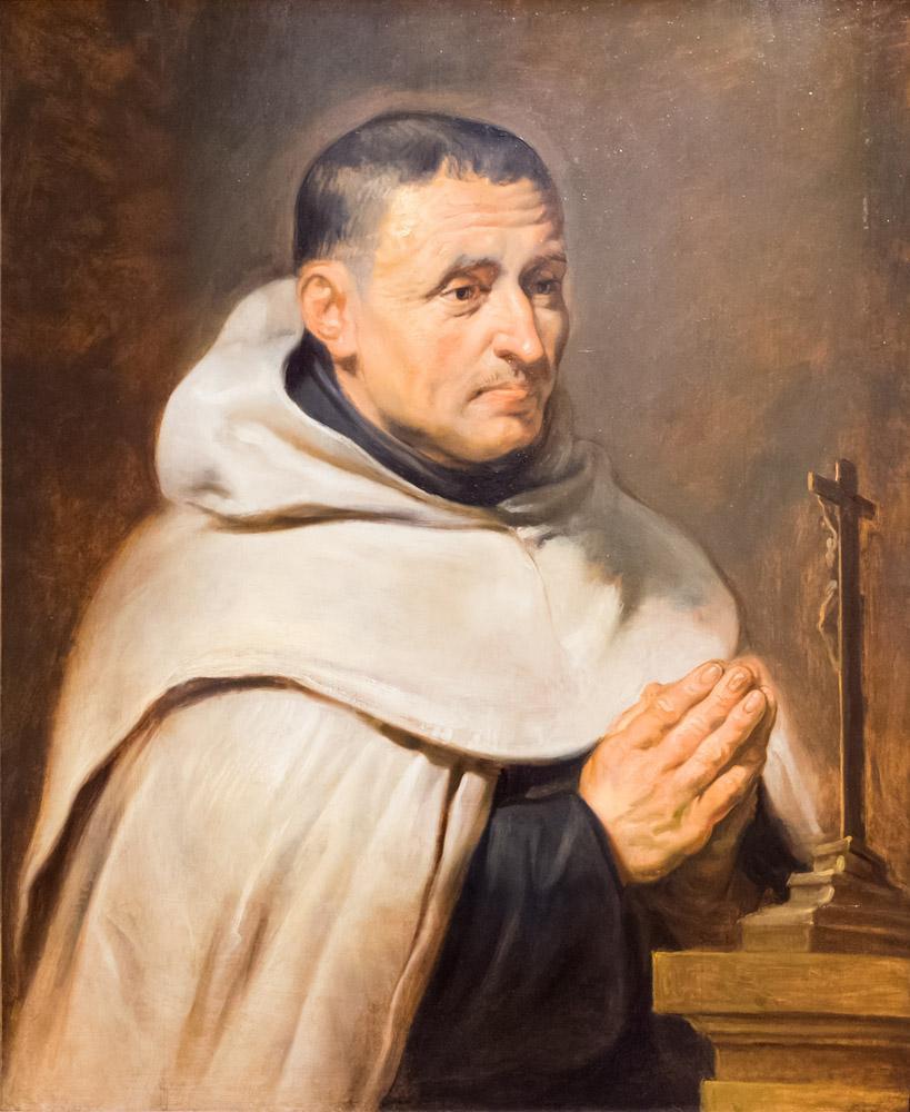 Peter Paul Rubens Portrait of a Carmelite Prior, Canvas, Peter Paul Rubens, kanvas tablo, canvas print sales