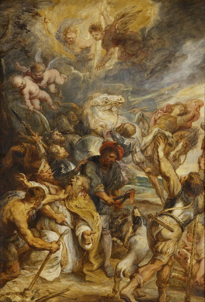 Peter Paul Rubens The Martyrdom of Saint Livinus, Canvas, Peter Paul Rubens