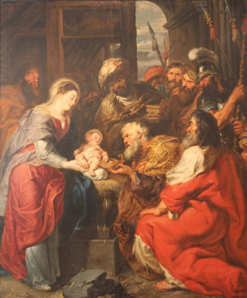 Peter Paul Rubens Adoration of the Magi, Canvas, Peter Paul Rubens, kanvas tablo, canvas print sales