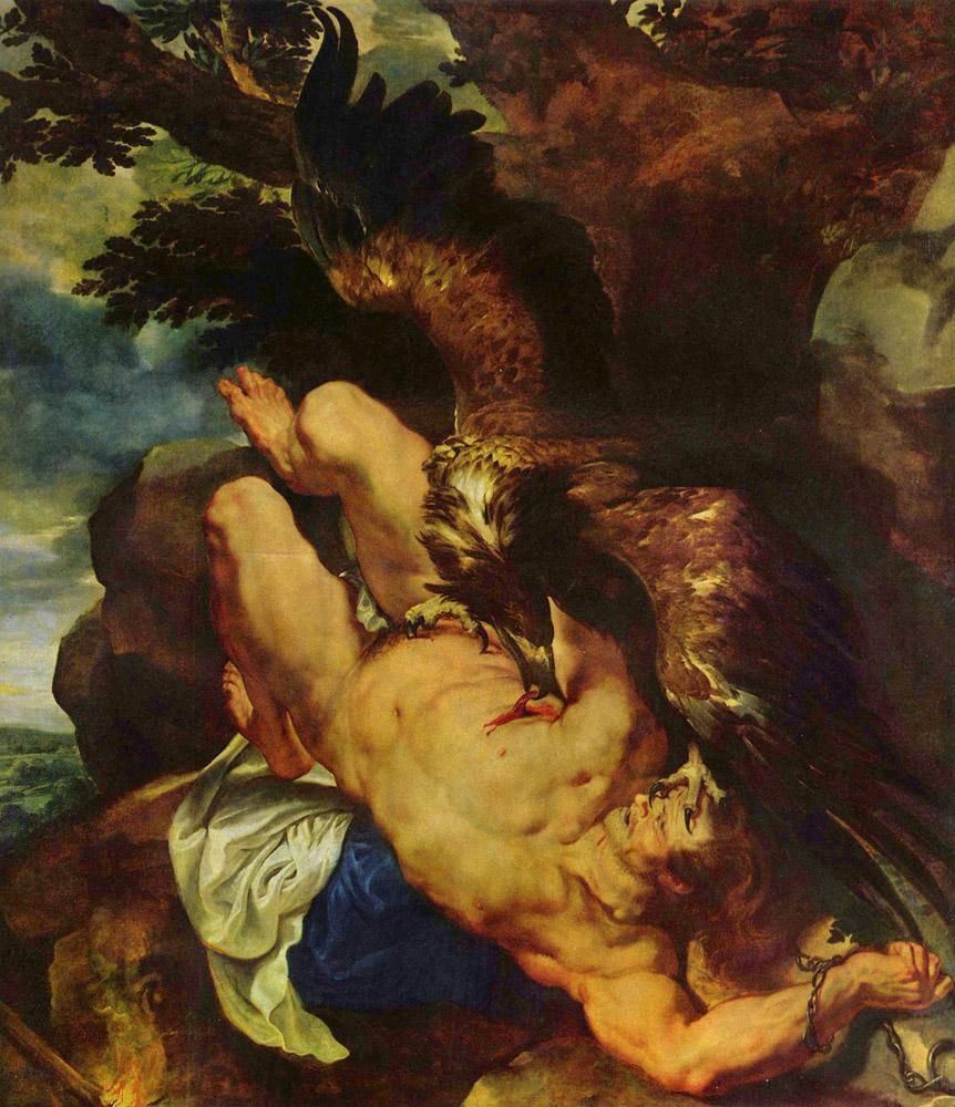 Peter Paul Rubens Prometheus Bound, Canvas, Peter Paul Rubens, kanvas tablo, canvas print sales