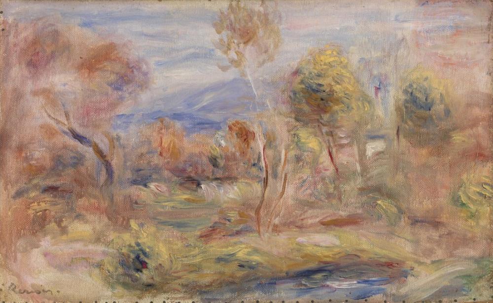 Pierre Auguste Renoir Glade, Canvas, Pierre Auguste Renoir, kanvas tablo, canvas print sales