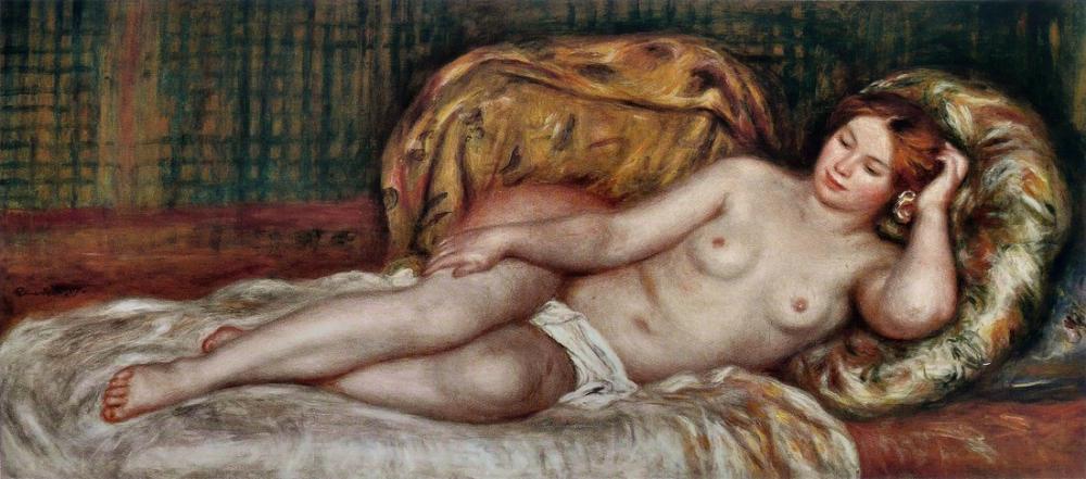 Pierre Auguste Renoir Büyük Çıplak, Kanvas Tablo, Pierre Auguste Renoir, kanvas tablo, canvas print sales