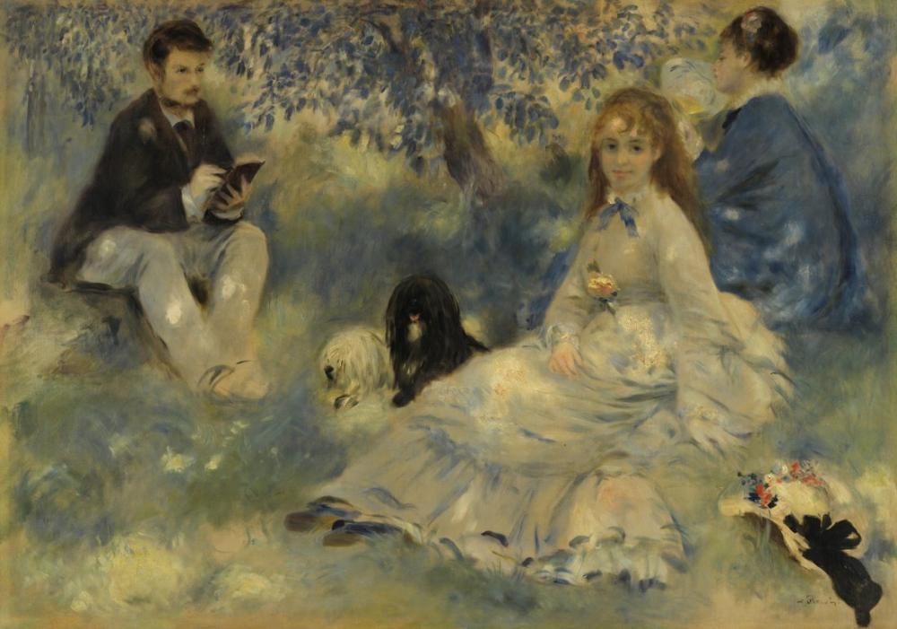 Pierre Auguste Renoir Henriot Family, Canvas, Pierre Auguste Renoir, kanvas tablo, canvas print sales