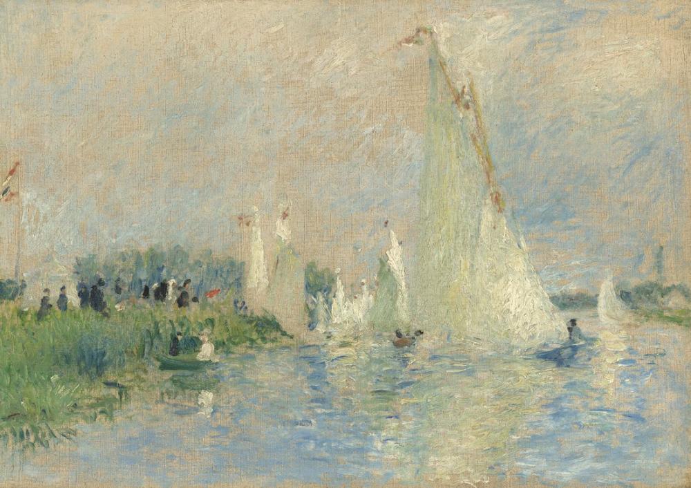Pierre Auguste Renoir Path Through The Woods, Canvas, Pierre Auguste Renoir, kanvas tablo, canvas print sales