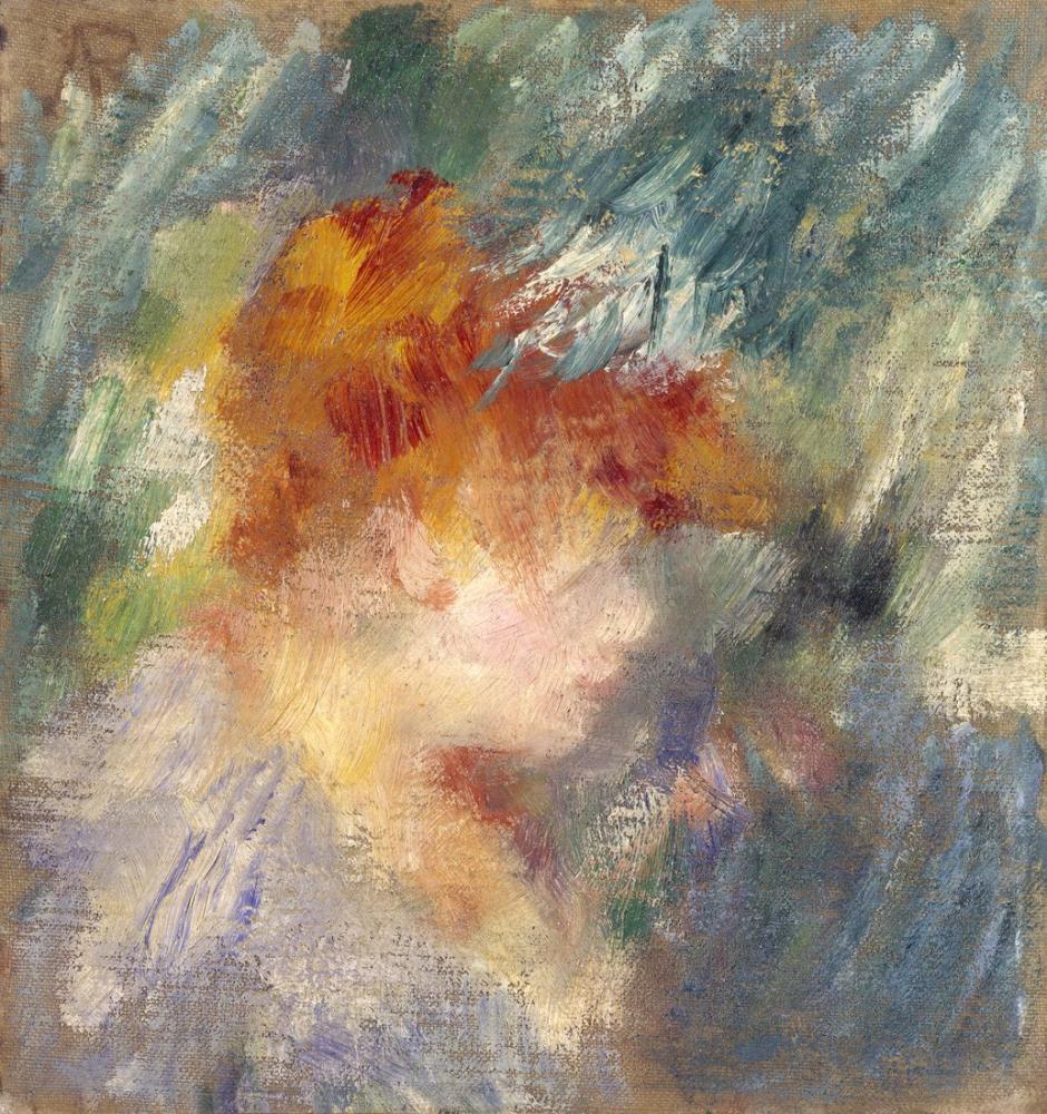 Pierre Auguste Renoir Jeanne Samary, Figure, Pierre Auguste Renoir, kanvas tablo, canvas print sales
