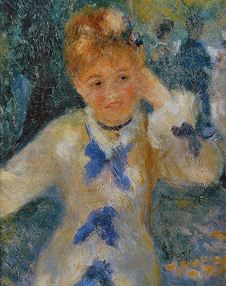 Pierre Auguste Renoir The Swing, Canvas, Pierre Auguste Renoir, kanvas tablo, canvas print sales