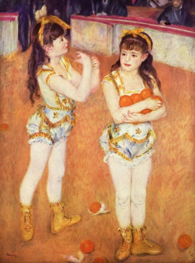 Pierre Auguste Renoir Circus, Canvas, Pierre Auguste Renoir, kanvas tablo, canvas print sales