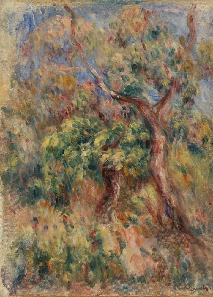 Pierre Auguste Renoir Landscape IV, Canvas, Pierre Auguste Renoir, kanvas tablo, canvas print sales