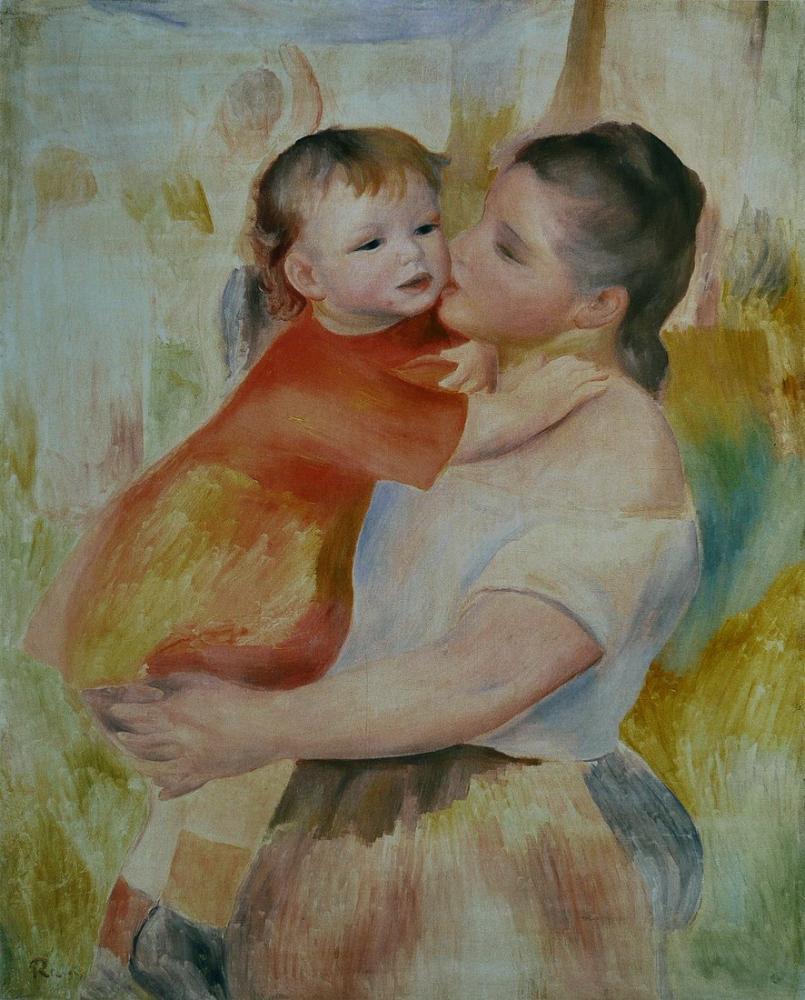 Pierre Auguste Renoir La Toilette, Canvas, Pierre Auguste Renoir, kanvas tablo, canvas print sales