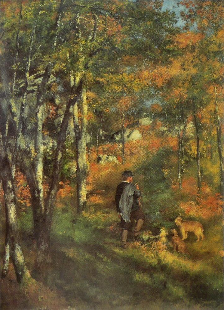 Pierre Auguste Renoir Le Peintre Jules Le Cœur, Canvas, Pierre Auguste Renoir, kanvas tablo, canvas print sales