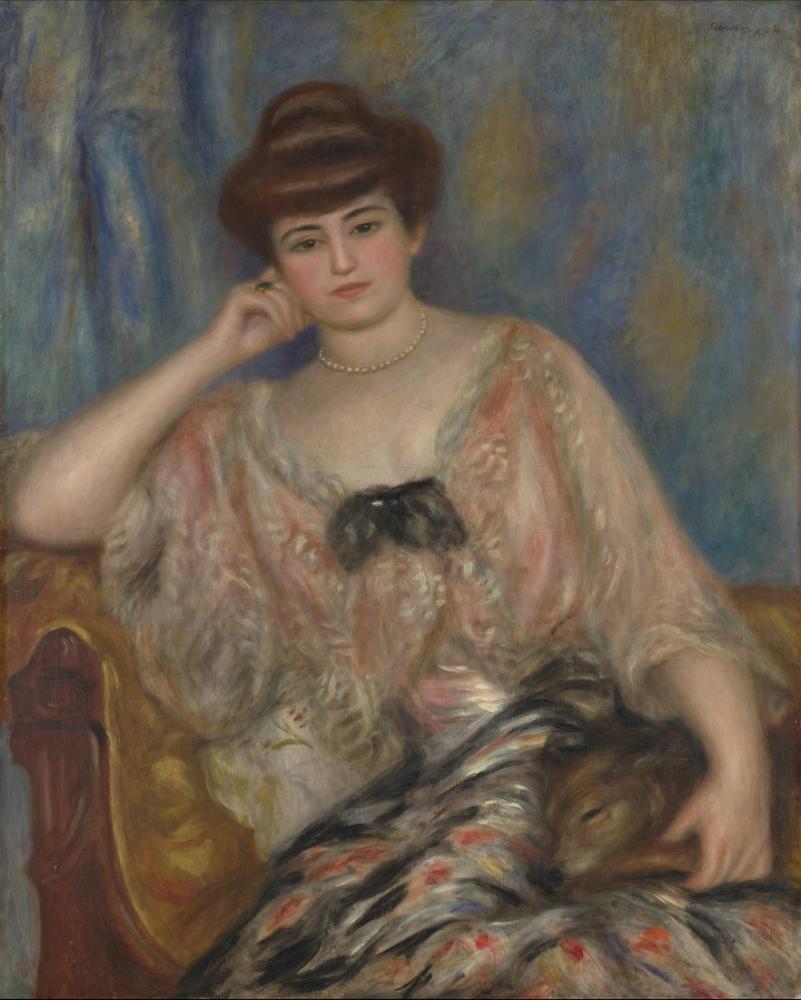 Pierre Auguste Renoir Misia 1903, Canvas, Pierre Auguste Renoir, kanvas tablo, canvas print sales