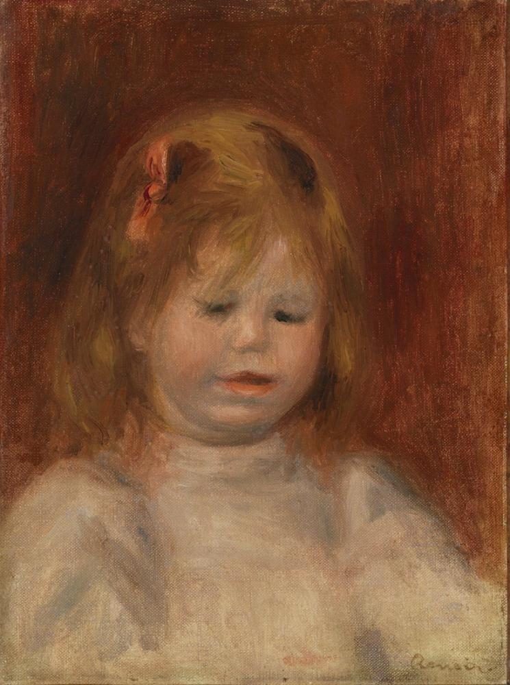 Pierre Auguste Renoir Portrait of Jean, Canvas, Pierre Auguste Renoir, kanvas tablo, canvas print sales