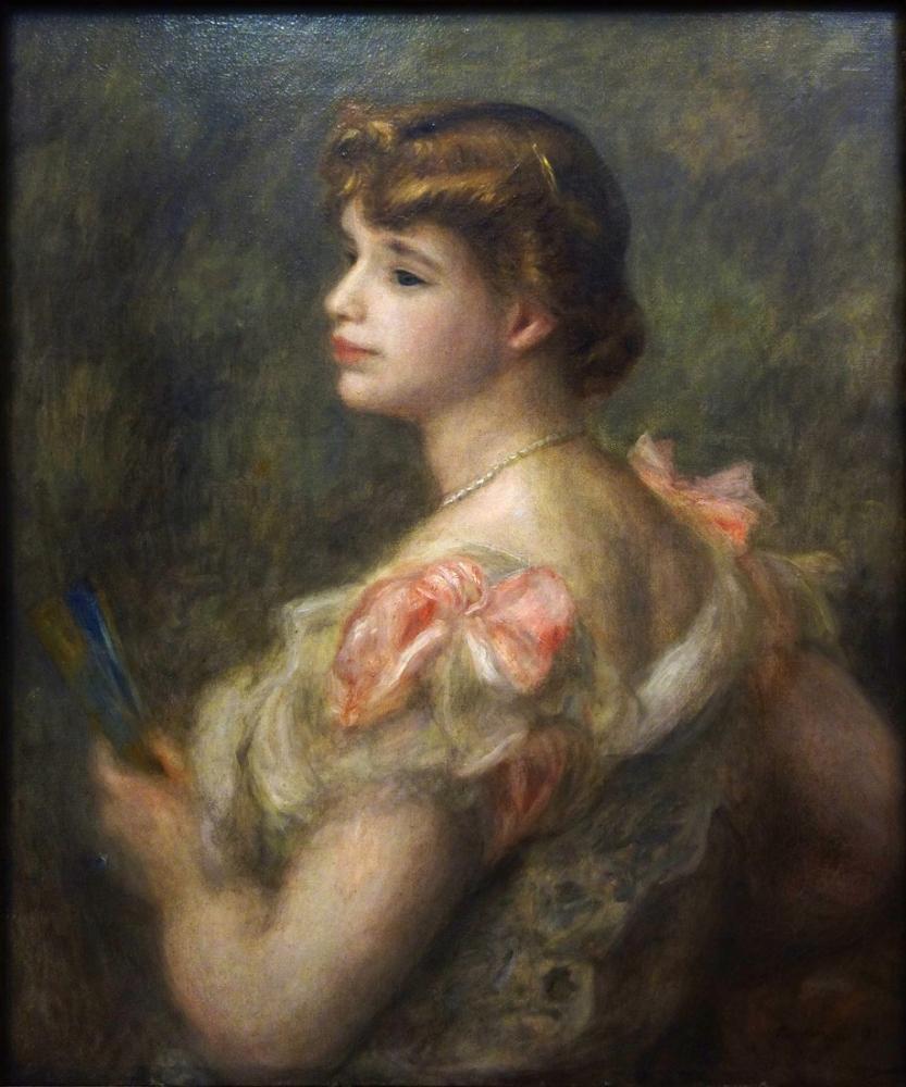 Pierre Auguste Renoir Portrait of Madame Valentine Fray, Canvas, Pierre Auguste Renoir, kanvas tablo, canvas print sales