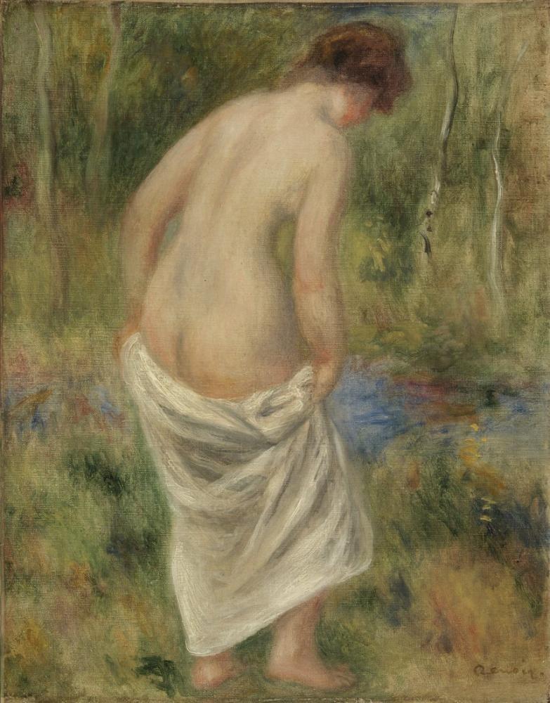 Pierre Auguste Renoir After The Bath, Canvas, Pierre Auguste Renoir, kanvas tablo, canvas print sales