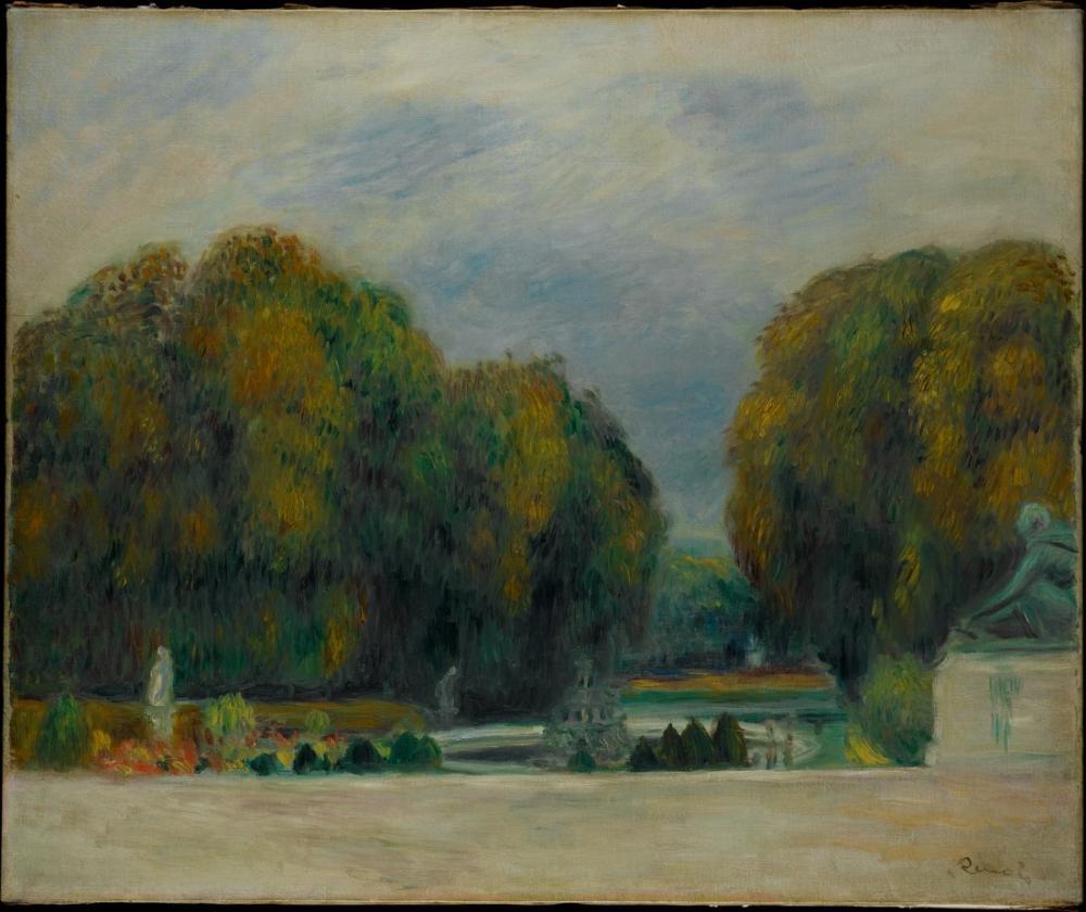 Pierre Auguste Renoir Versailles, Canvas, Pierre Auguste Renoir, kanvas tablo, canvas print sales