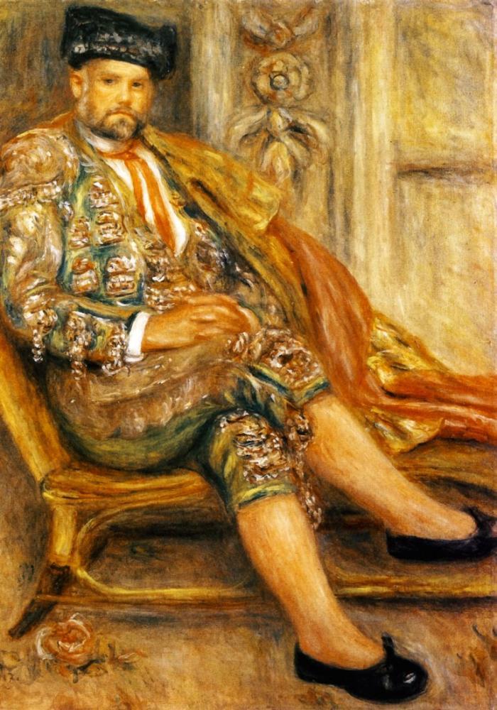 Pierre Auguste Renoir Ambroise Vollard By, Canvas, Pierre Auguste Renoir, kanvas tablo, canvas print sales