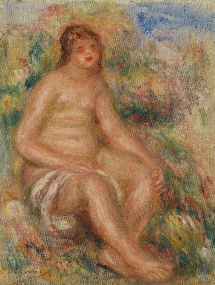 Pierre Auguste Renoir Bather, Canvas, Pierre Auguste Renoir, kanvas tablo, canvas print sales