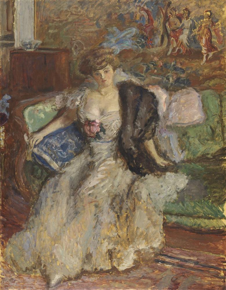 Pierre Bonnard Misia, Canvas, Pierre Bonnard, kanvas tablo, canvas print sales