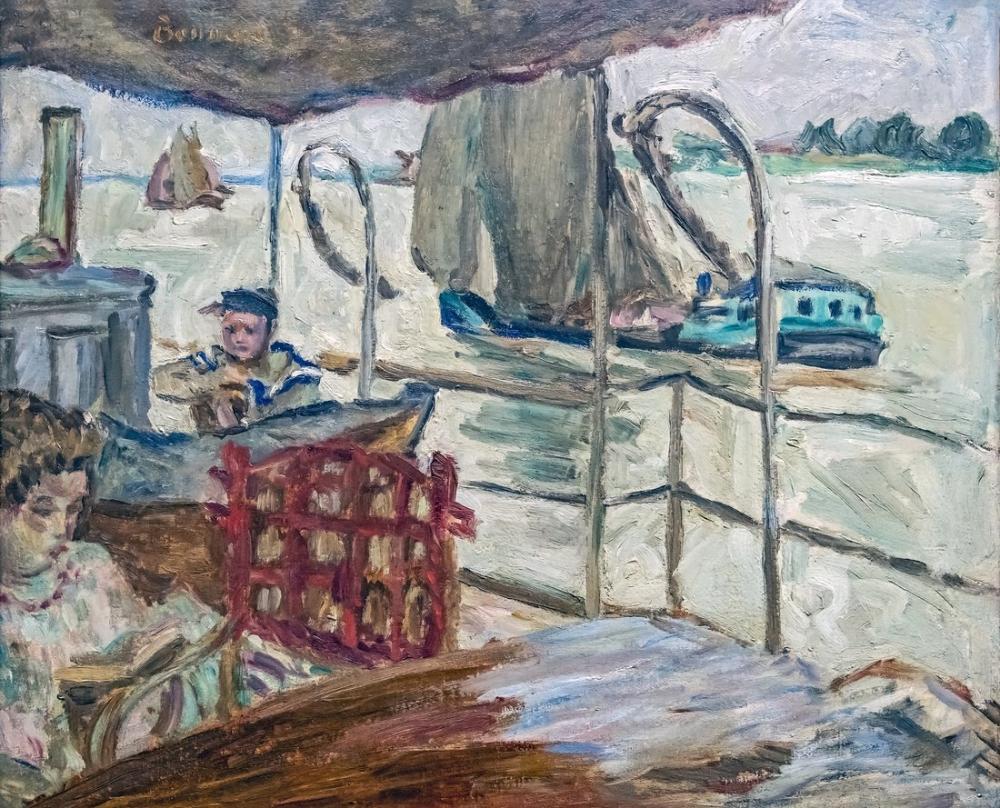 Pierre Bonnard Edwards Gemisinde Misia, Kanvas Tablo, Pierre Bonnard, kanvas tablo, canvas print sales