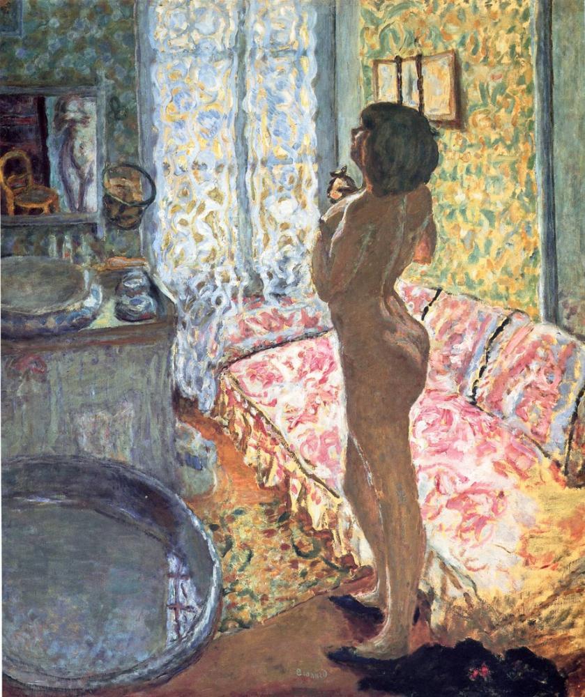 Pierre Bonnard Model In Backligh, Canvas, Pierre Bonnard, kanvas tablo, canvas print sales