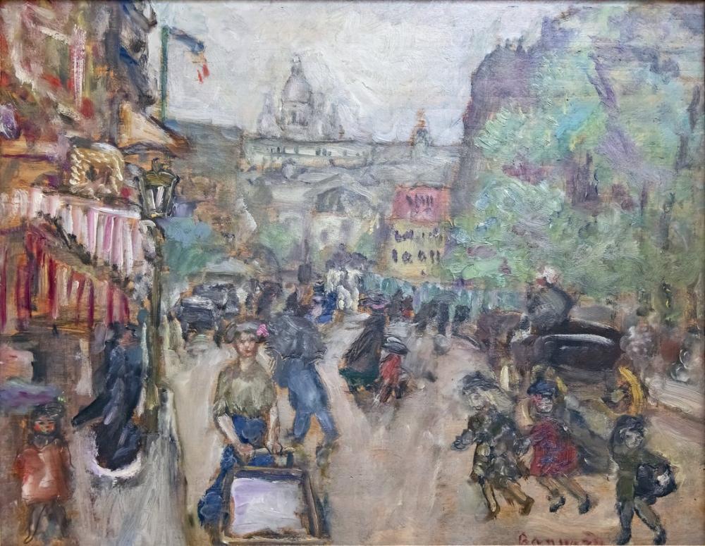 Pierre Bonnard Montmartre, Canvas, Pierre Bonnard, kanvas tablo, canvas print sales