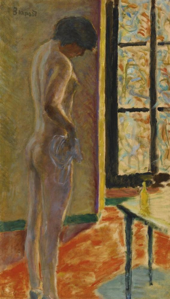 Pierre Bonnard Naked At The Window, Canvas, Pierre Bonnard, kanvas tablo, canvas print sales