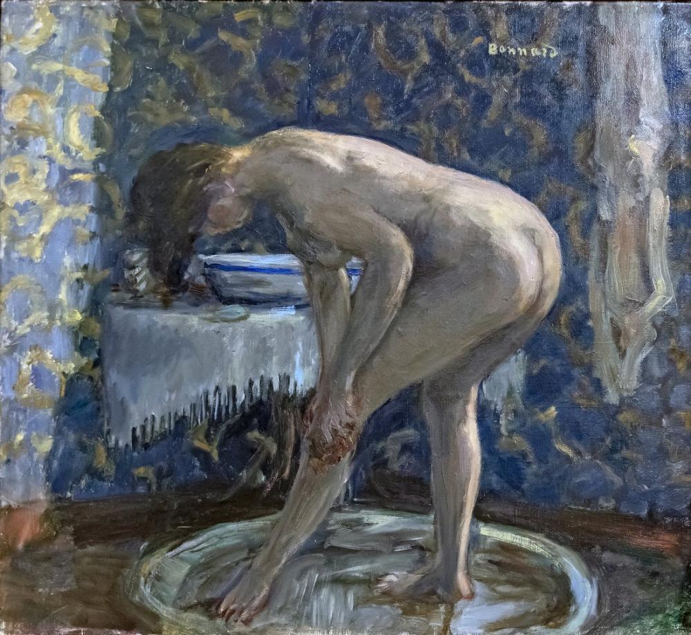 Pierre Bonnard Nu Au Tub, Canvas, Pierre Bonnard, kanvas tablo, canvas print sales
