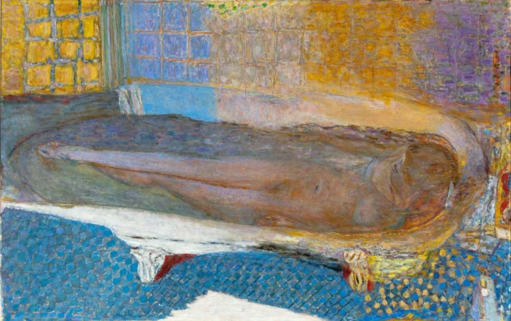 Pierre Bonnard Nude In The Bath, Canvas, Pierre Bonnard, kanvas tablo, canvas print sales