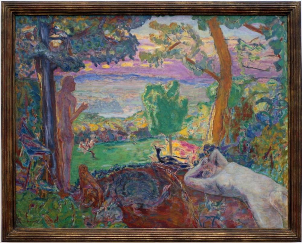 Pierre Bonnard Paradiso Terrestre, Canvas, Pierre Bonnard, kanvas tablo, canvas print sales