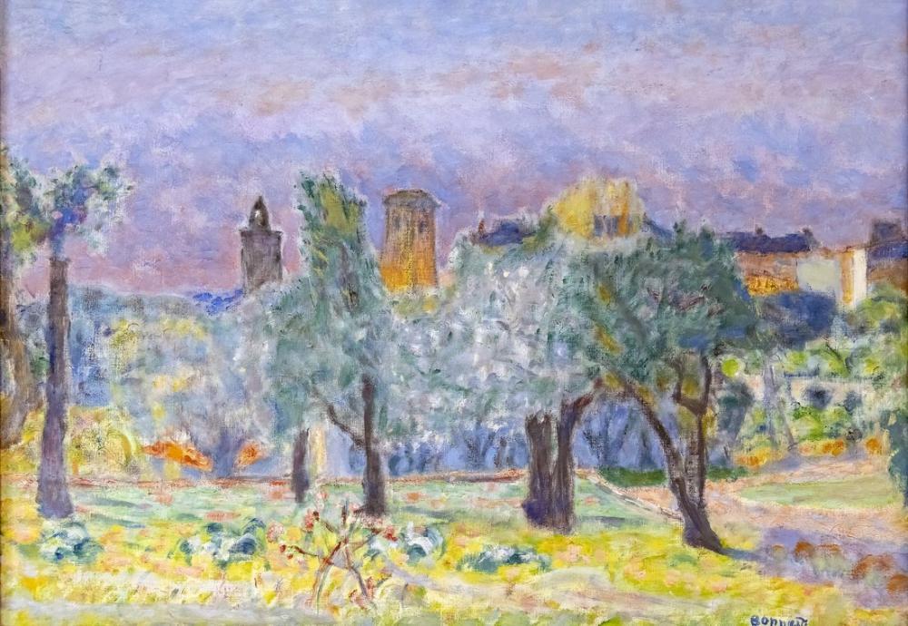 Pierre Bonnard Paysage Du Midi, Canvas, Pierre Bonnard, kanvas tablo, canvas print sales