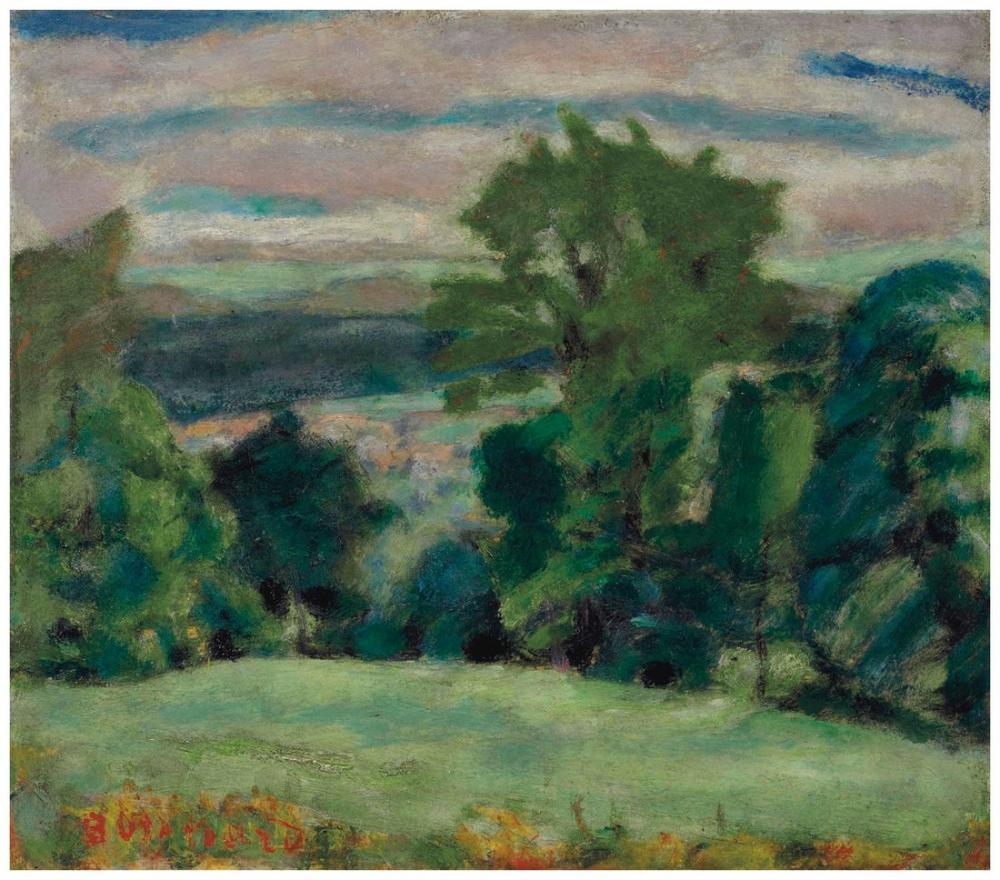 Pierre Bonnard Manzara, Kanvas Tablo, Pierre Bonnard, kanvas tablo, canvas print sales