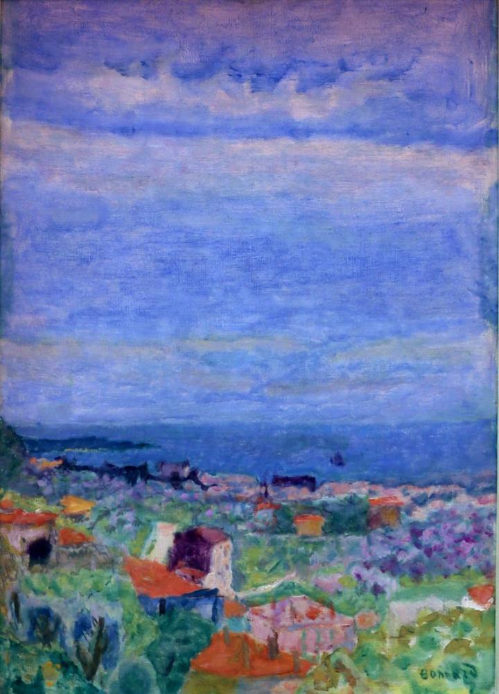 Pierre Bonnard Pesaggio Il Canneto, Canvas, Pierre Bonnard, kanvas tablo, canvas print sales