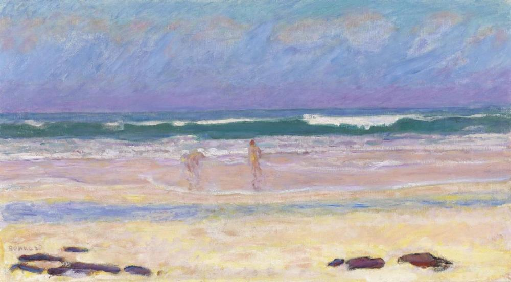 Pierre Bonnard Plage, Canvas, Pierre Bonnard, kanvas tablo, canvas print sales