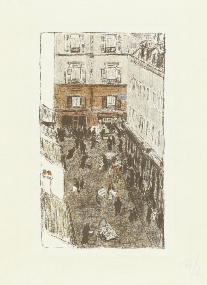 Pierre Bonnard Paris Hayatının Bazı Yönleri, Kanvas Tablo, Pierre Bonnard, kanvas tablo, canvas print sales